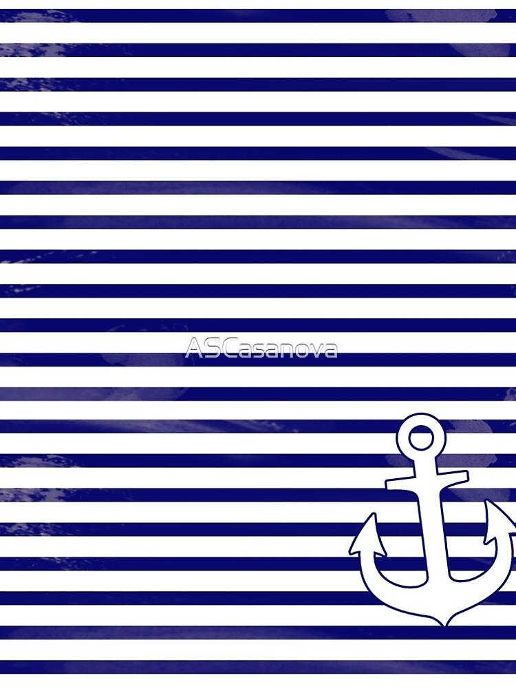The blue anchor by ASCasanova