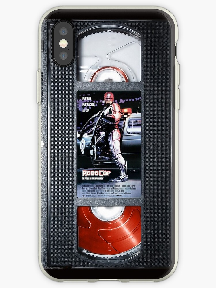 Robocop vhs iphone-case by Abricotti