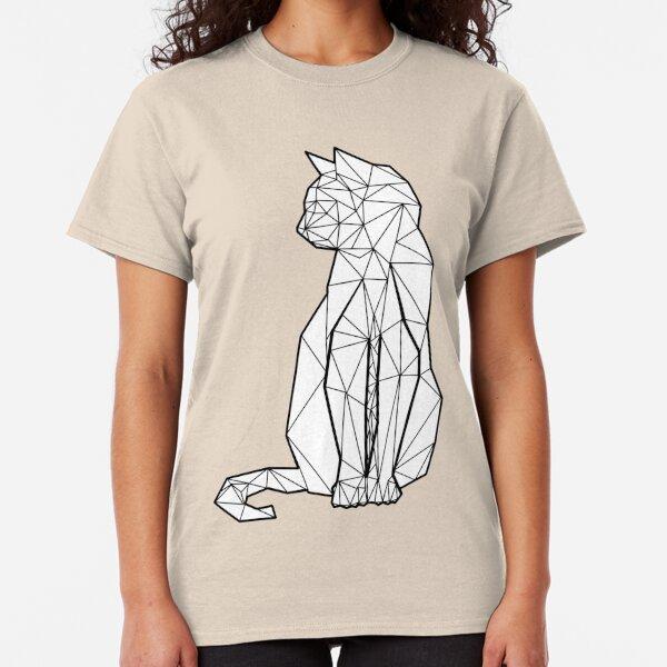 Geometric Cat Classic T-Shirt