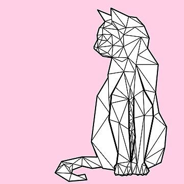 Gato geométrico de freddieobrion