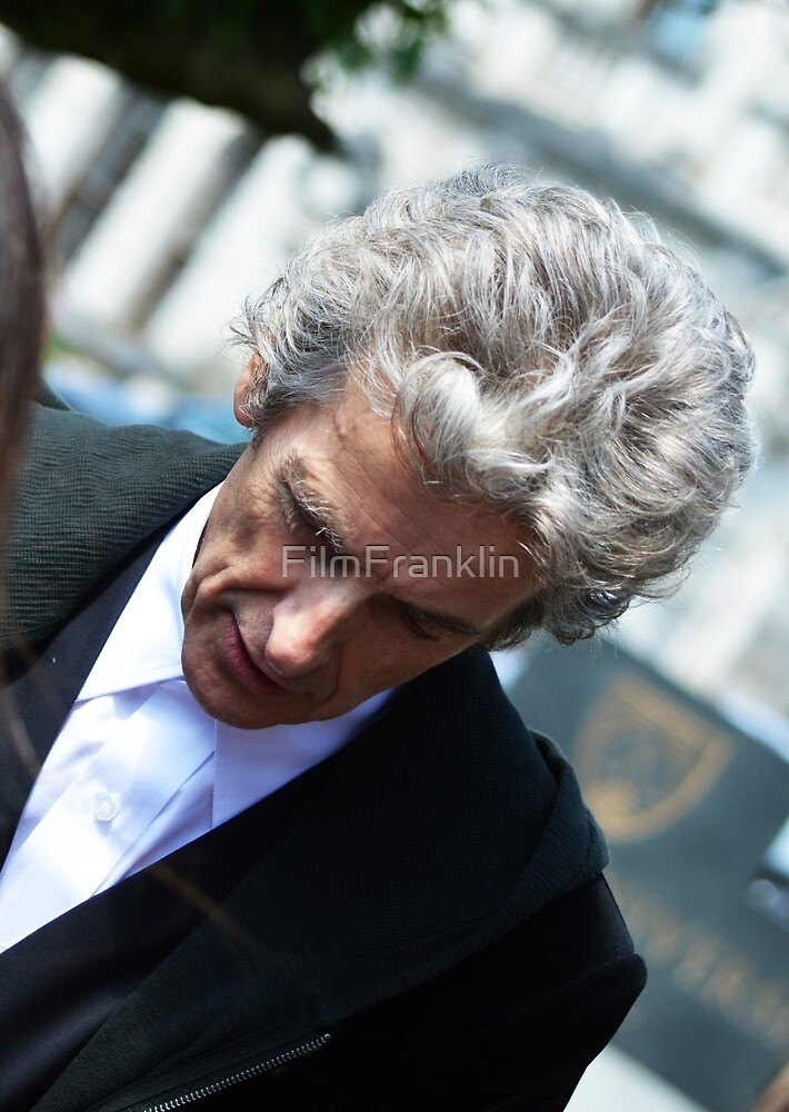 Original Peter Capaldi Art Photography by FilmFranklin