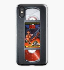 Rambo vhs iphone-case iPhone Case