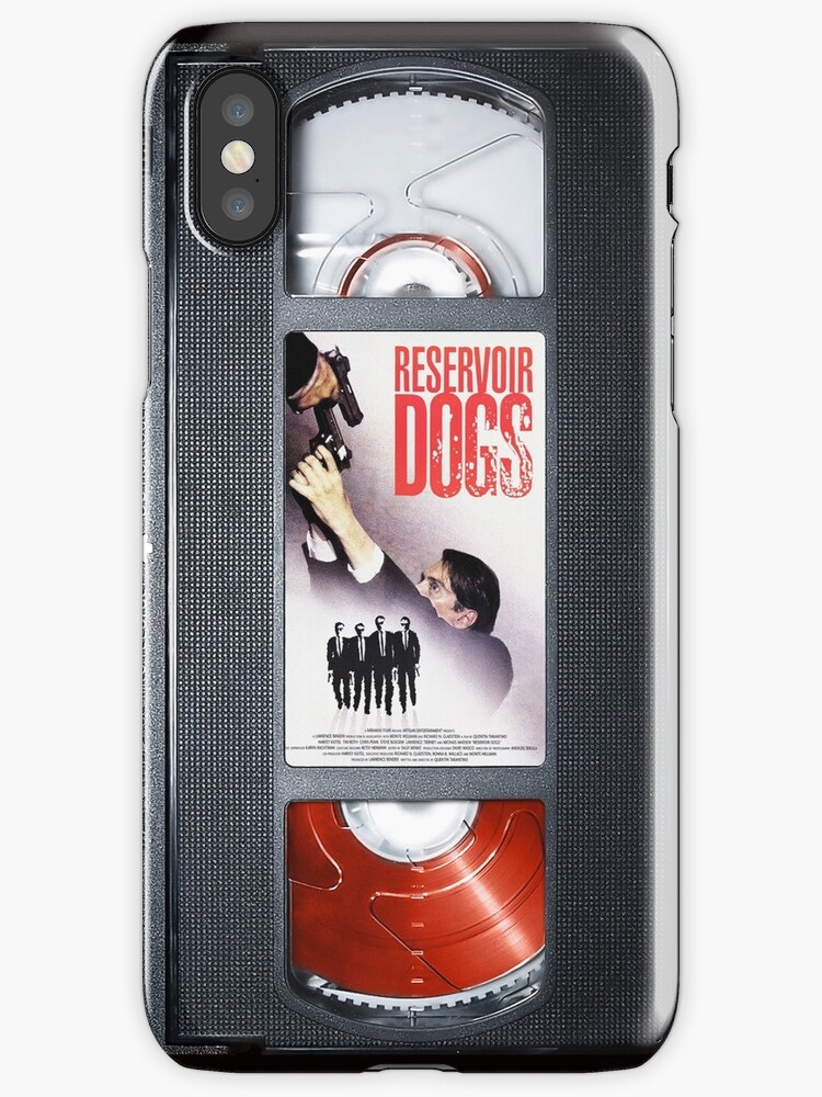 Reservoir Dogs vhs iphone-case by Abricotti