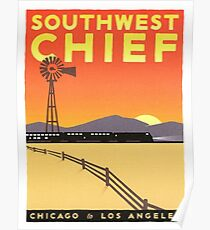 Vintage poster - Southwest Chief Poster