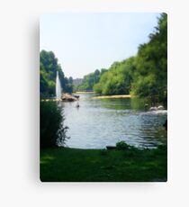 Water River Canvas Print