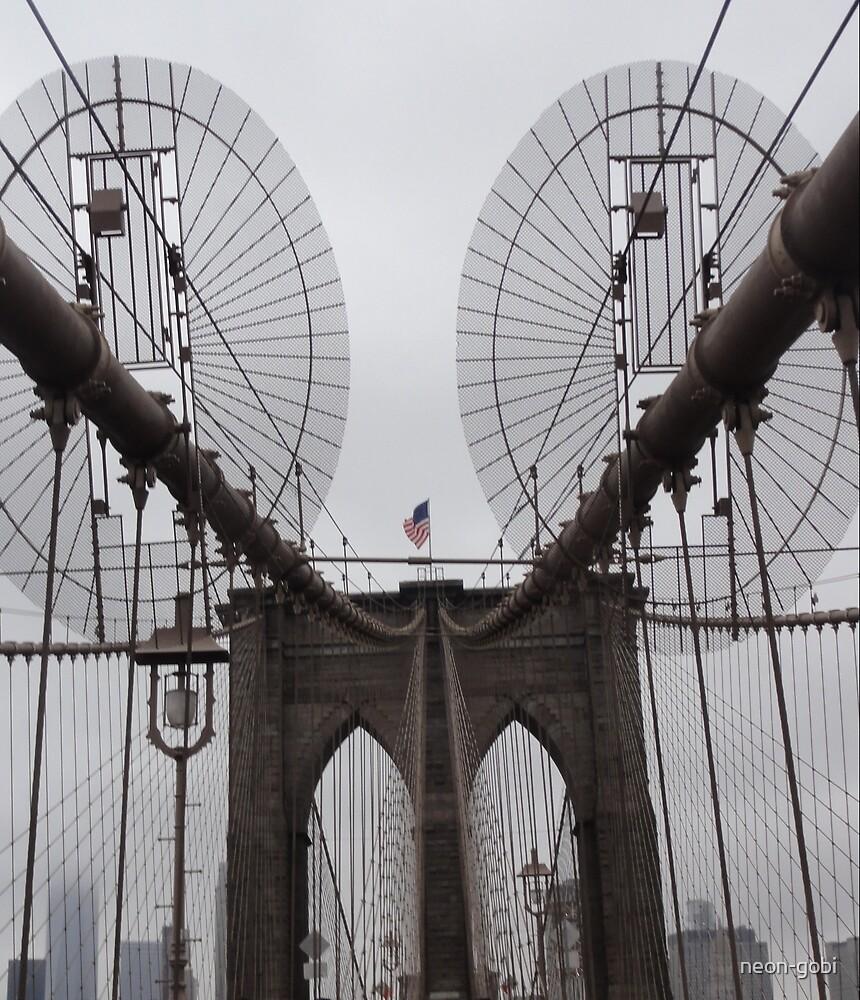 Brooklyn Bridge by neon-gobi