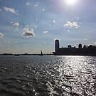 View from Battery Park - New York by neon-gobi