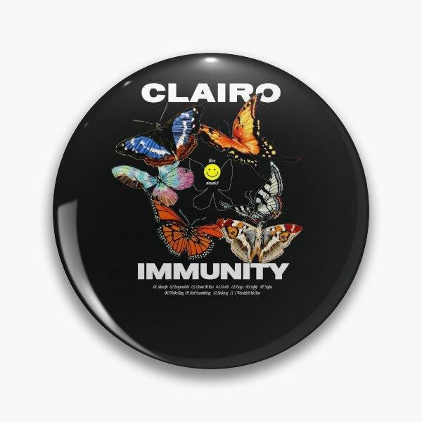 Clairo Merch Butterfly Pin