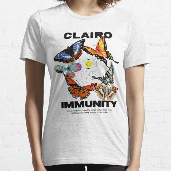 Clairo Merch Butterfly Essential T-Shirt