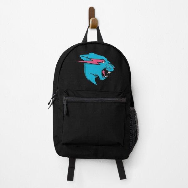 Mr. Beast /. Mr Blue Lion Beast (Black) - Useless Madala Backpack