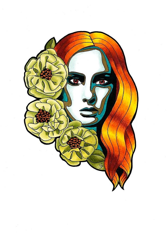 Femme Botanica - Queen by janestradwick