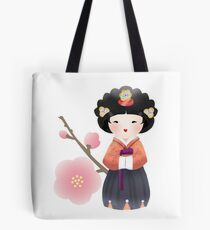 Korean Doll Tote Bag