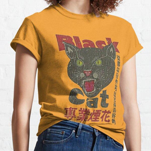 Jahrgang 1942 schwarze Katze Classic T-Shirt