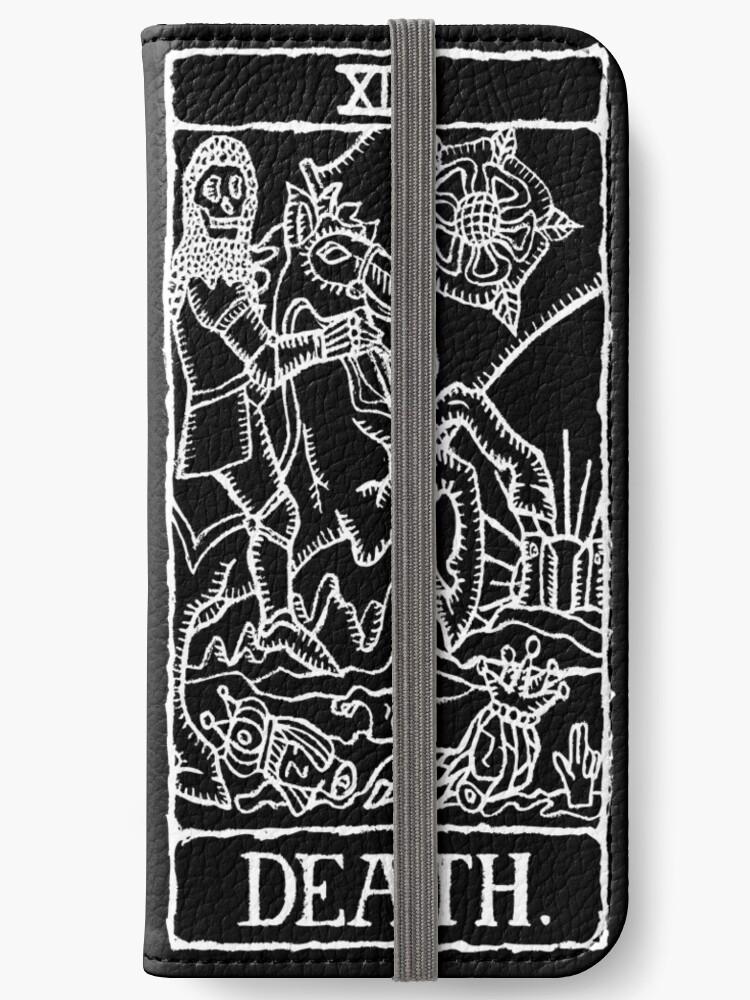 Death Tarot Card Print  by lafayettecanada