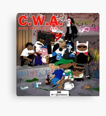 CWA & The Network Canvas Print
