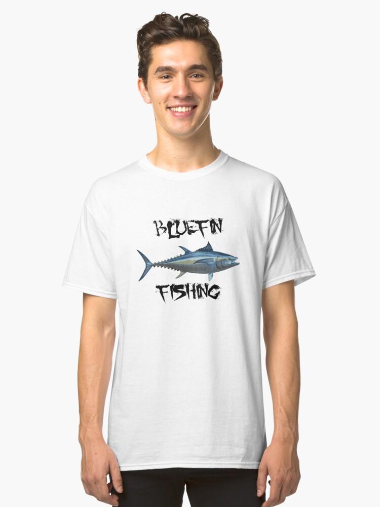 Bluefin Fishing Classic T-Shirt Front