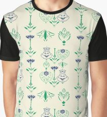 Toad Hall Wallpaper Graphic T-Shirt