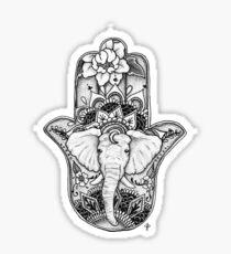 Pegatina El elefante divino