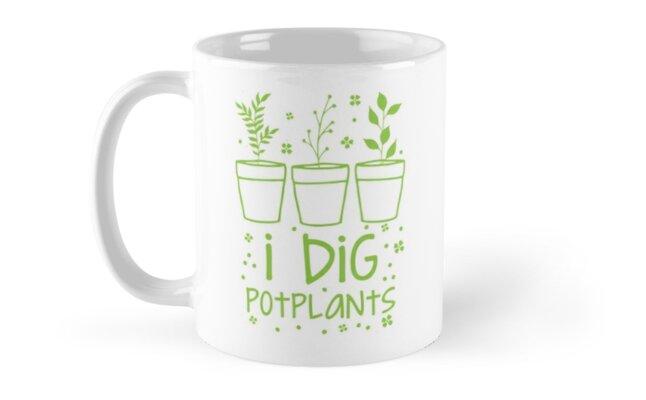 I dig potplants by jazzydevil