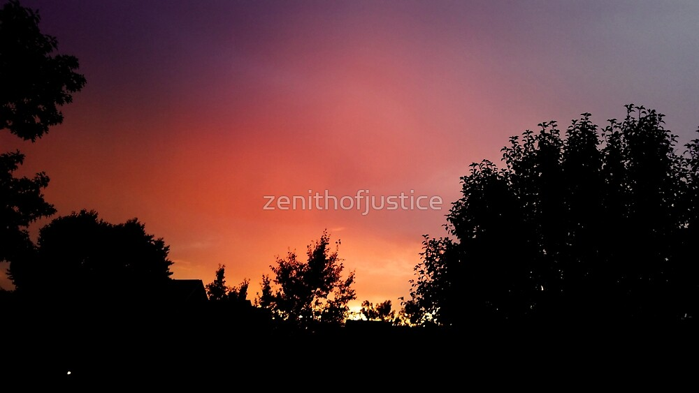 Sunset Over New England by zenithofjustice