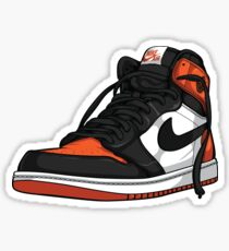 "Air Jordan 1 ""SHATTERED BACKBOARD"" Sticker"