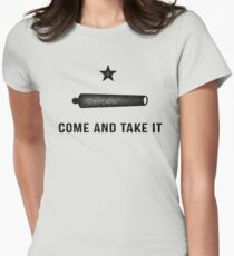 Gonzales Flag Womens Fitted T-Shirt