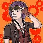 Steampunk Ellie by GrimDork