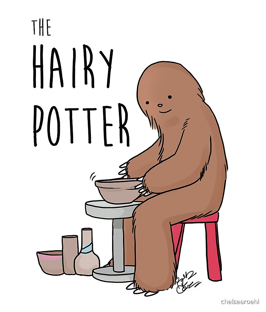 The Hairy Potter by chelsearoehl