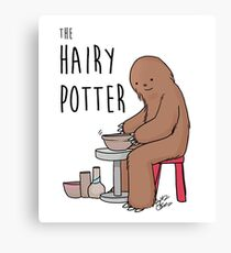 The Hairy Potter Canvas Print