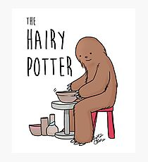 The Hairy Potter Photographic Print