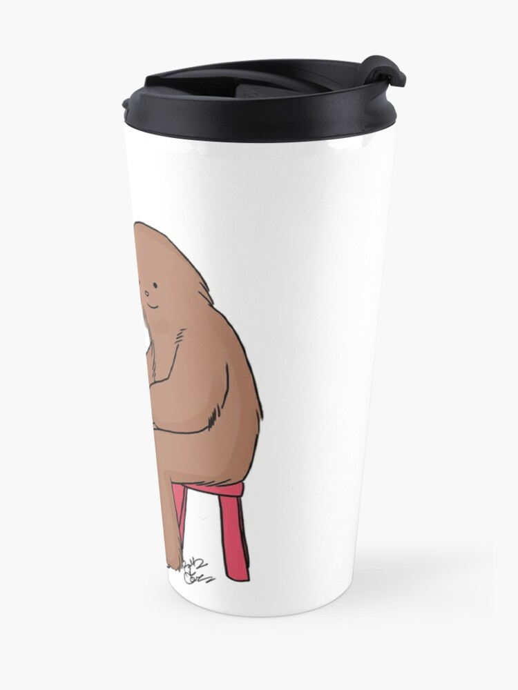 Alternate view of The Hairy Potter Travel Mug