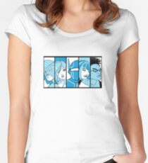 City of Heroes Women's Fitted Scoop T-Shirt