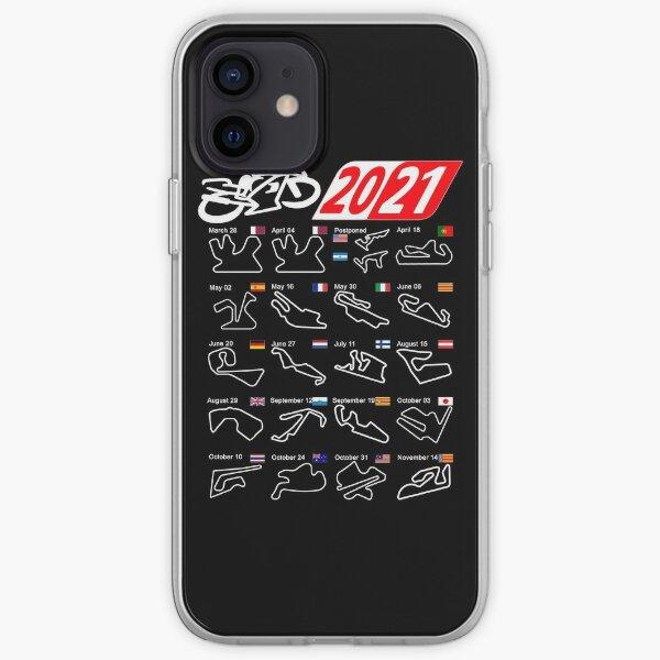 Coque iPhone « Calendrier saison 2021 MotoGp circuits sport », par ...