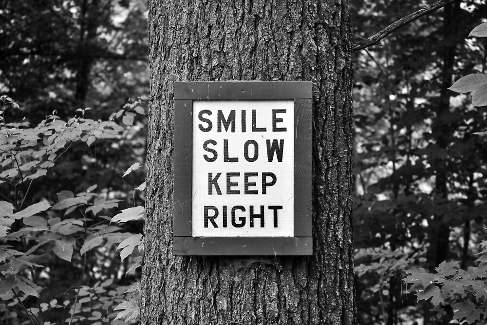 SMILE SLOW by lmcronk