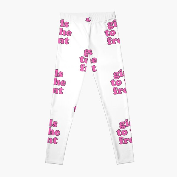 Girls To The Front Riot Aesthetic Streetwear Vaporwave Leggings