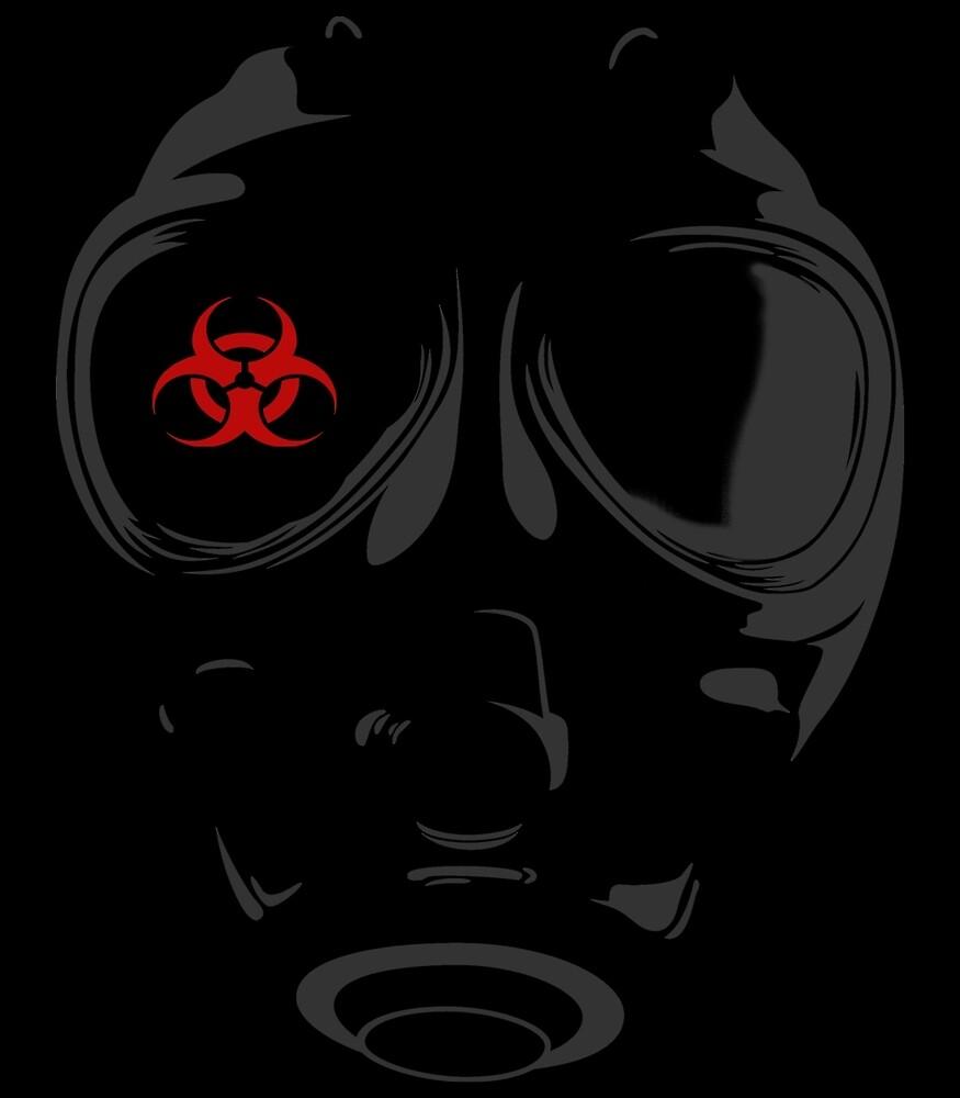 biohazard gasmask by blackboxshop
