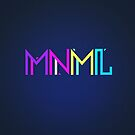 Minimal Type (Colorful Edm) Typography - Design by badbugs