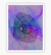 cosmic turn Sticker