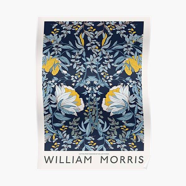 Fleur bleue, William Morris Poster