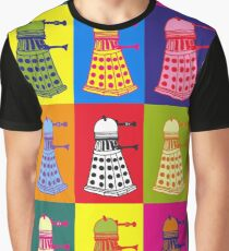 Andy Warhol Daleks Graphic T-Shirt