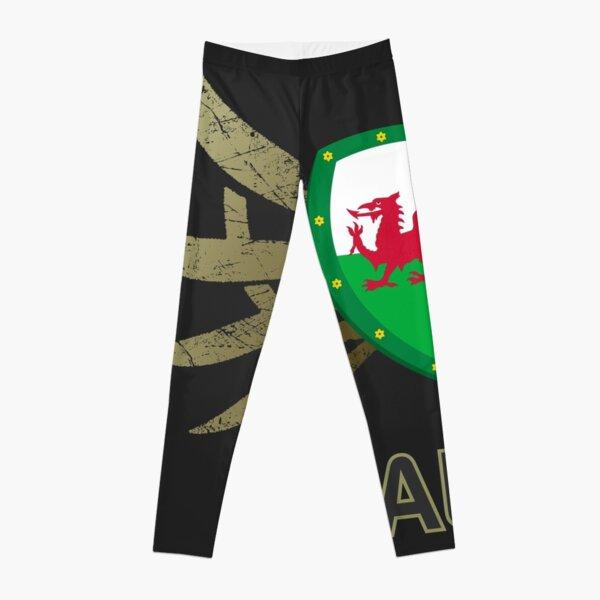 Wales Euro 2016 | Print ID 1-3 [grey]  Leggings