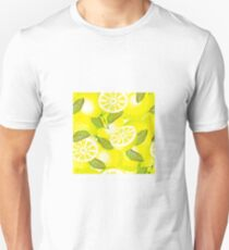 Lemon background Unisex T-Shirt