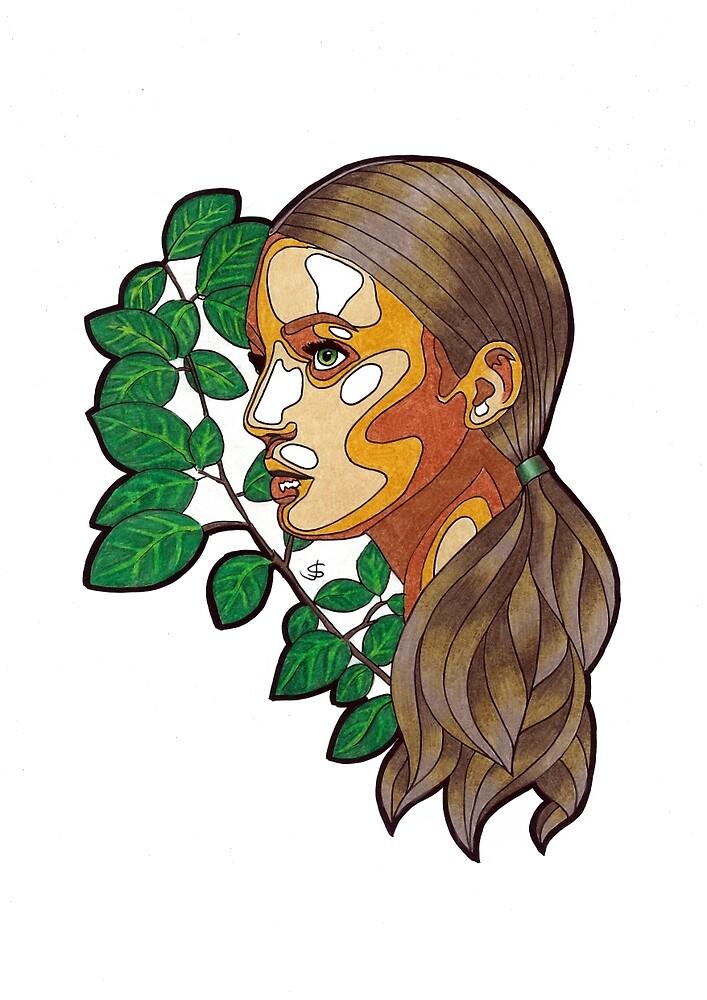 Femme Botanica - DNA by janestradwick