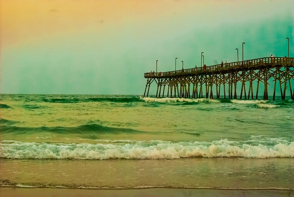 Topsail Evening by cwoodphotos