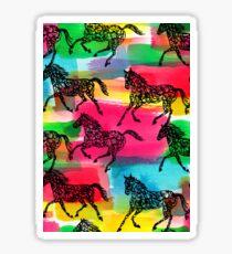 Horse Stampede Sticker