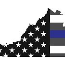 Thin Blue Line - Virginia by Haley Bengtson