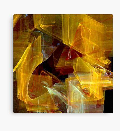 Not So Mellow Yellow Canvas Print