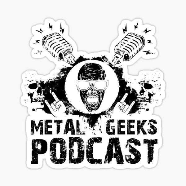 Metal Geeks Podcast - Zombie design Sticker