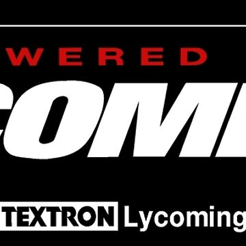 Powered By Lycoming - Textron by JoshuaFraustro