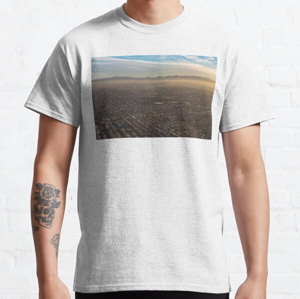 Impressive Los Angeles, California - Urban Sprawl and Smog Classic T-Shirt